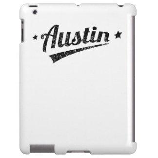 Distressed Retro Austin Logo
