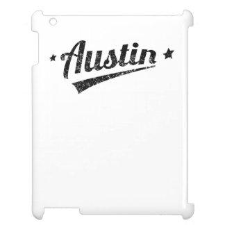 Distressed Retro Austin Logo iPad Case