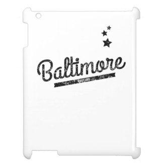 Distressed Retro Baltimore Logo Case For The iPad
