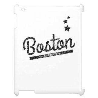 Distressed Retro Boston Logo iPad Covers