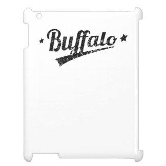 Distressed Retro Buffalo Logo Case For The iPad