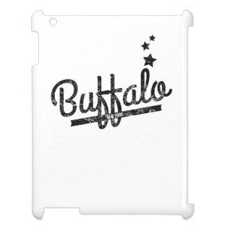 Distressed Retro Buffalo Logo Cover For The iPad