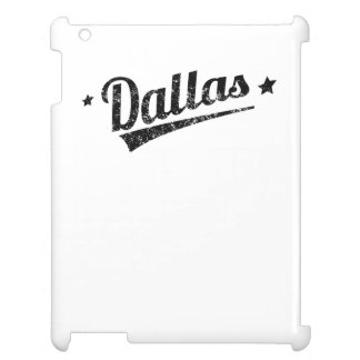 Distressed Retro Dallas Logo Case For The iPad