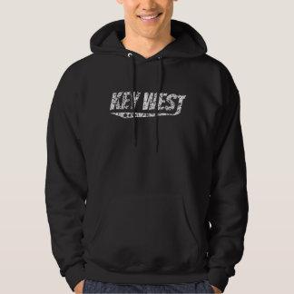 Distressed Retro Key West Logo Hoodie