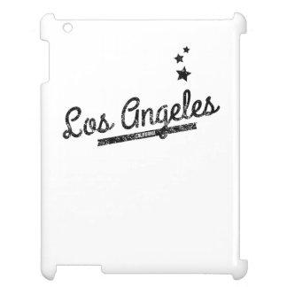 Distressed Retro Los Angeles Logo iPad Cover