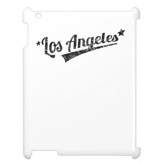 Distressed Retro Los Angeles Logo Cover For The iPad