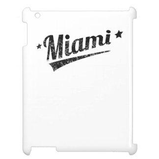 Distressed Retro Miami Logo Cover For The iPad 2 3 4