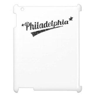 Distressed Retro Philadelphia Logo iPad Case