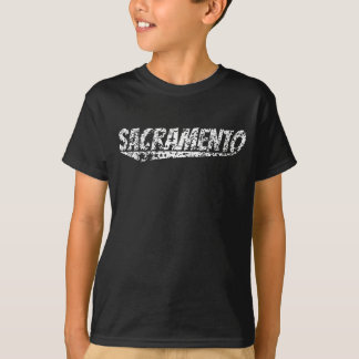 Distressed Retro Sacramento Logo T-Shirt