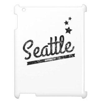 Distressed Retro Seattle Logo Case For The iPad 2 3 4