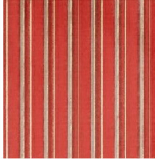 Distressed Retro Stripe Coral Beige Rust Standing Photo Sculpture