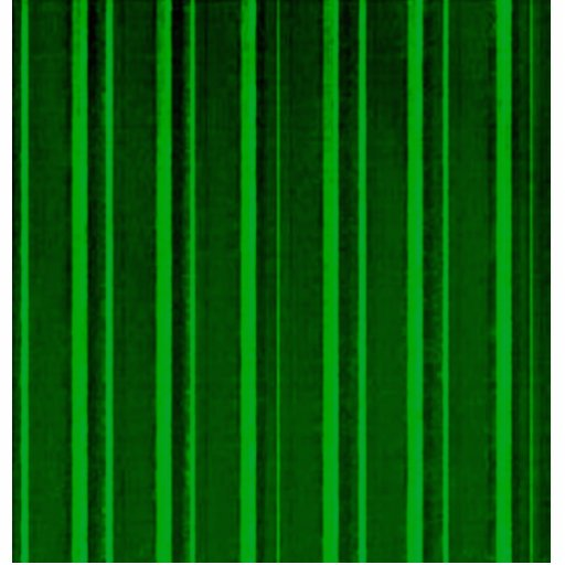 Distressed Retro Stripe Green Acrylic Cut Out