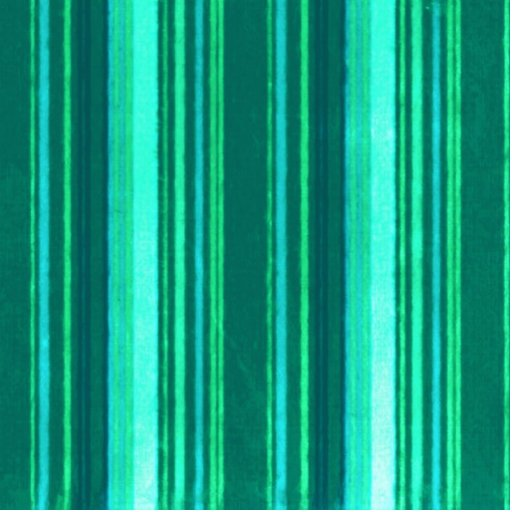 Distressed Retro Stripes Teal Green Turquoise Cut Out