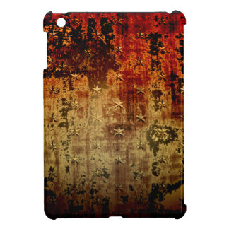 Distressed Rust Grunge iPad Mini Case