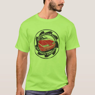 Distressed SCCNA logged Green t-Shirt