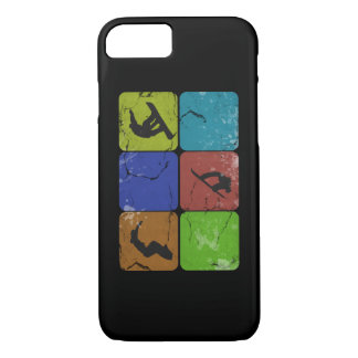 Distressed Snowboarding iPhone 7 case