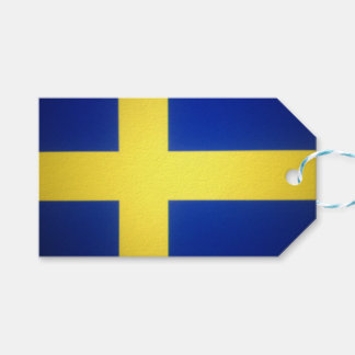Distressed Swedish Flag Symbol