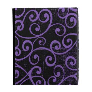Distressed Swirls iPad Folio Case