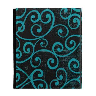 Distressed Swirls iPad Case