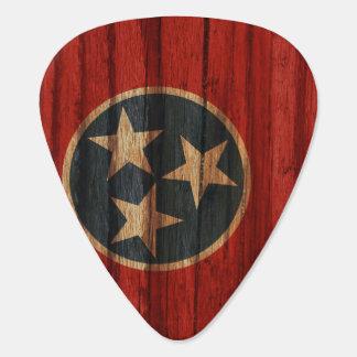 Distressed Tennessee Flag Plectrum