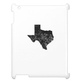 Distressed Texas Silhouette iPad Cover