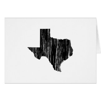Distressed Texas State Outline Card