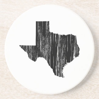 Distressed Texas State Outline Coaster
