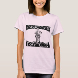 Distressed Thomas Nashe Unfortunate Traveller T-Shirt