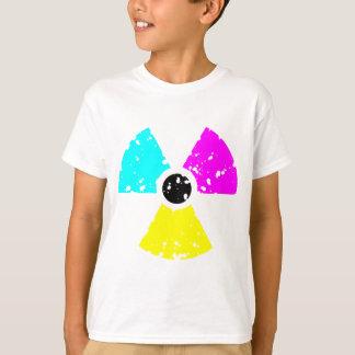 distressed toxic symbol CMYK T-Shirt