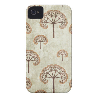 Distressed trees stylish pattern blackberry bold Case-Mate iPhone 4 case
