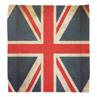 Distressed UK Flag Union Jack Bandanna
