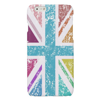 Distressed Union Flag Multicolored
