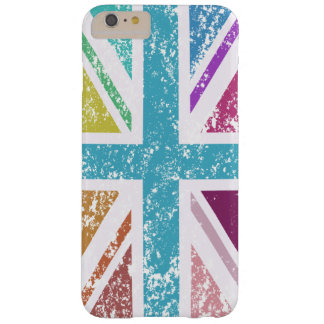 Distressed Union Flag Multicolored Barely There iPhone 6 Plus Case