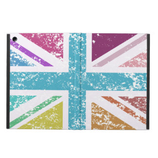 Distressed Union Flag Multicolored iPad Air Case