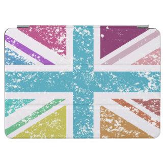 Distressed Union Flag Multicolored iPad Air Cover