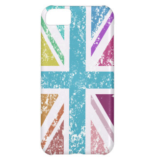 Distressed Union Flag Multicolored iPhone 5C Case