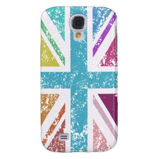 Distressed Union Flag Multicolored Samsung Galaxy S4 Cover
