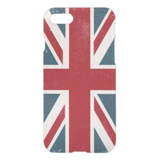 DISTRESSED UNION JACK BRITISH FLAG I-PHONE CASE