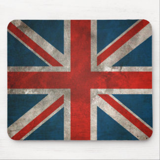 Distressed Union Jack Mousepad