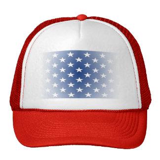 Distressed US Flag Stars Trucker Hats