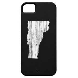 Distressed Vermont State Outline iPhone 5 Covers