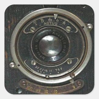 Distressed Vintage Camera Sticker