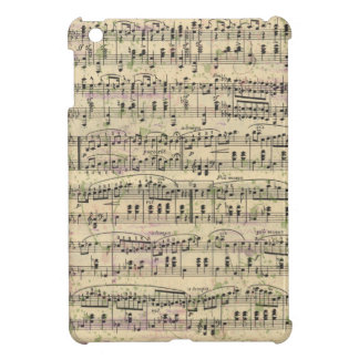 Distressed Vintage Music iPad Mini Case