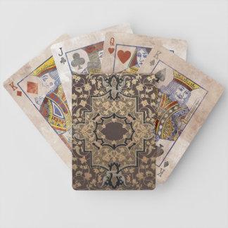 Distressed Vintage Ornate 16th Century Design Poker Cards