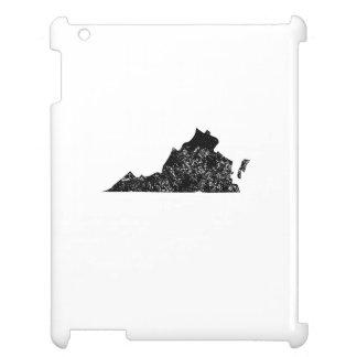 Distressed Virginia Silhouette iPad Cover