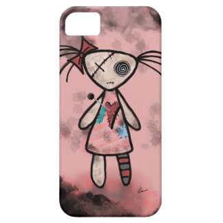 Distressed Voodoo Doll iPhone Case