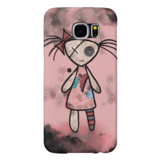 Distressed Voodoo Doll Samsung Galaxy S6 Cases