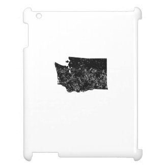 Distressed Washington Silhouette Case For The iPad