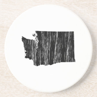 Distressed Washington State Outline Coaster