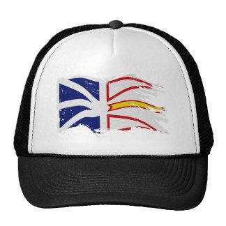 DISTRESSED WAVING NL FLAG cut Cap